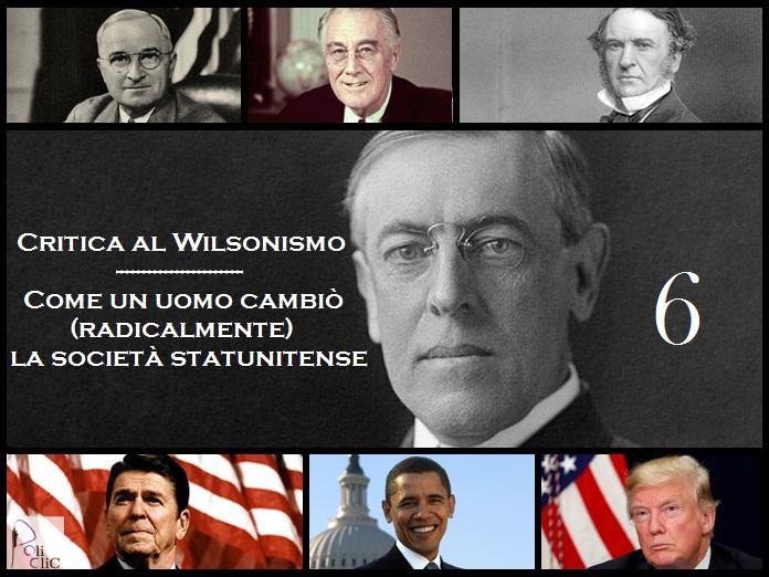 """Critica al Wilsonismo – Gli Stati Uniti """"dopo"""" Wilson: la """"guerra permanente"""" tra Ronald Reagan, Bush Sr. e Bill Clinton"""