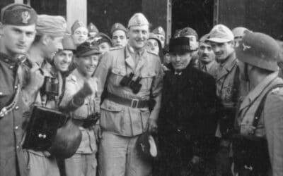 Il crollo del fascismo: racconto di un'uscita di scena
