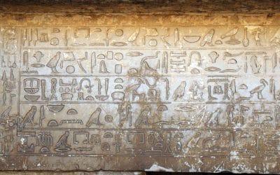 La scrittura nell'antico Egitto